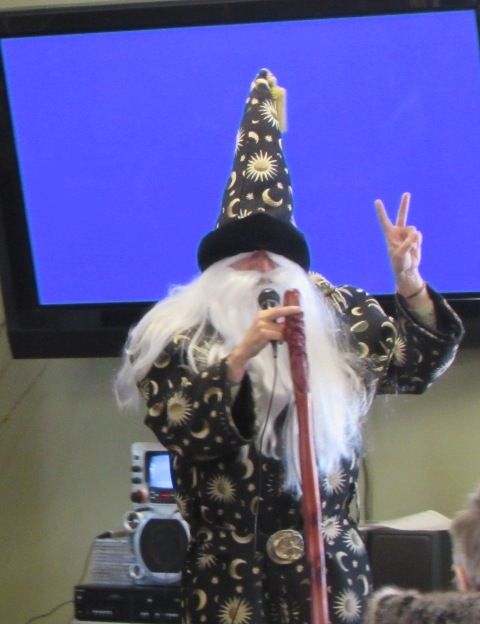Merlin at our Senior Idol competition 2015
